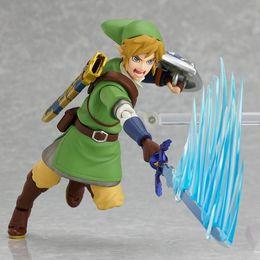 The Legend of Zelda Figura Juguete Zelda Muñecas Modelo Figma Link Nendoroid Majoras Máscara 3D Skull Kid Zelda Figuras juguetes desde fabricantes