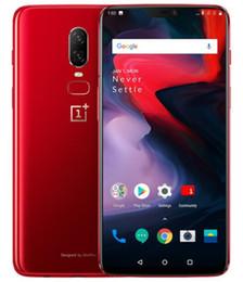 2019 4g lt chinesischen android entriegelt Oneplus 6 Global Firmware Unlockde Handy Snadragon 845 Octa Core 64 GB / 128 GB 6,28 Zoll 16MP Dual Rückfahrkamera Android 8.1