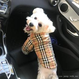 2020 ropa de gato de diseñador Ropa del diseñador de moda del animal doméstico sudaderas gato de la manera precioso peluche del perro de perrito del Schnauzer Outwear la ropa del perro casero Suministros up13 rebajas ropa de gato de diseñador