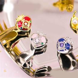 Sailor Moon Zecter Sailor Chibimoon Pendant Necklace 925 Silver Cos gift