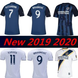 6b68abcc1 2019 2020 La Galaxy Zlatan Camiseta De Fútbol IBRAHIMOVIC 19 20 Los Angeles  Galaxy FC GIOVANI J.DOS SANTOS Camiseta De Futbol Kit Por Xn666777