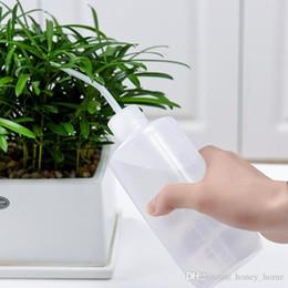 buse de bouteille d'eau Promotion NOUVEAU Eau Bec Verser Bouilloire Outil Plantes Succulentes Fleur Arrosoir Peut Presser Bouteilles Avec Long Buse 250ML 500ML