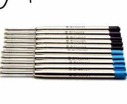 D099 металлическая ручка заправки шариковая офис школа канцелярские подарки продажа 10шт заправки одной ручкой написать длину 700m от
