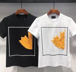 pólo designer homens Desconto 19ss Verão Mens Designer Camisas De Trigo Milho Designer Camisas Polo Homens Manga Curta Tshirt Da Marca Designer Camisas