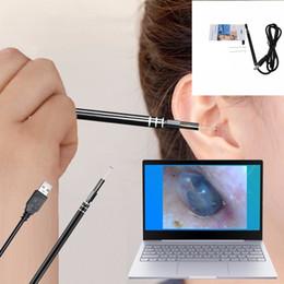 ушные камеры Скидка USB ухо очистки инструмент HD визуальный ухо ложка многофункциональный Earpick с мини-камеры ручка уха уход в ухо очистки эндоскоп