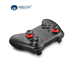 Multi game controller online-MOCUTE Bluetooth Gamepads Für Ps4 Controller 3D Rocker Handy Spiel Multifunktions Gamepad Für PC IOS VR Game Controller