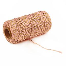 Fabala Cadeau Décoration Corde En Coton Forte Absorption D'humidité Multifonctionnel Écologique Bicolore Traditionnel ? partir de fabricateur