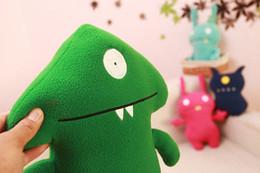 Boneca de brinquedo super fofa e fofa on-line-Filme boneca feia com super fogo brinquedo de pelúcia travesseiro feio bonito boneca bonito crianças boneca V028