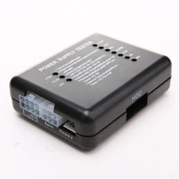 aa embalagem da bateria Desconto 2016 Fonte De Alimentação Tester Checker LED 20/24 Pinos para PSU ATX SATA Testador de HDD Medidor de Medição do Verificador para PC Computar NIL5 20