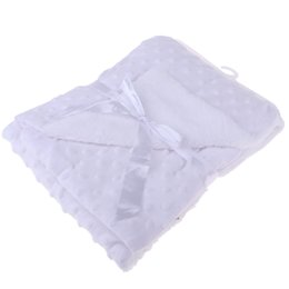 Edredón manta de bebé online-Baby Super Soft Bubble Matchet Newborn Boys Girls Cuna Cuna Manta Edredón Wrap