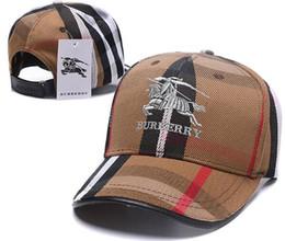 Sombreros para hombre fedoras online-2019 diseñadores para hombre Burb gorras de béisbol Luxurys marca sombreros bordado hueso mujeres casquette sombreros sombrero de sol gorras deportes golf gorra
