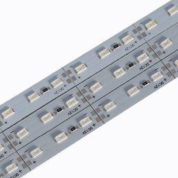 Por metro online-Barra LED luces de tira DC12V 994 * 12MM 14W SMD5730 Medidor de Gaza / LED 72LED por el metro blanca fría DC12V 7000-9000K LED tira rígida