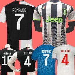jersey para niños ronaldo Rebajas Nuevo 2019 RONALDO JUVENTUS Jersey de fútbol 18 19 20 JUVE 2020 Local Visitante DYBALA HIGUAIN BUFFON Camisetas Futbol Camisas Maillot Football Shirt