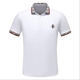hombres expresos cortos Rebajas Express 2019 Europe y la moda deportiva para hombre más vendida cuello alto manga corta camiseta M-3XL al por mayor al por menor