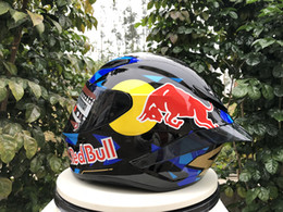 Rennen voller gesicht motorradhelm online-2020 new arrival black Full Face Motorcycle Helmet off road cascos Motocross Racing Motobike Riding Helmet