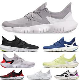 Zapatillas de correr frescas y respirables online-2019 Free RN 5.0 para hombre Zapatillas de deporte para hombre Diseñador de moda Zapatillas deportivas Verano Cool Transpirable RUN Mujer Zapatos ligeros 35-44 EUR
