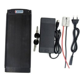 Ebike 36v bateria li ion on-line-Personalizado 36 V 10Ah / 20Ah / 25Ah Íon de Lítio Bateria Traseira Ebike Bateria Li-Ion 36 V Bicicleta Elétrica Da Bateria 1000 W com Luz Da Cauda