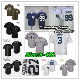 New York Yankees Jersey Aaron Juiz Giancarlo Stanton Mariano Rivera Mantle Babe Ruth Torres Don Mattingly Gary Sanchez Derek 2 Jeter Mulheres Jovens supplier giancarlo stanton de Fornecedores de giancarlo stanton
