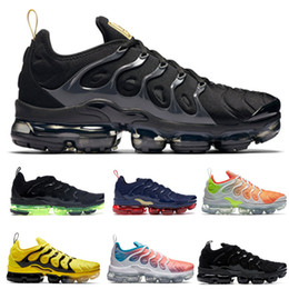 wholesale dealer a51da 0b85e chaussures tn Promotion 201 TN Plus Noir Métallique Or Anthracite Chaussures  De Course Femmes Chaussures de