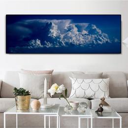 Reliabil cartaz pintura da lona tamanho grande nuvem parede pictures para quarto decorativo pintura quadros cartazes e cópias sem moldura de Fornecedores de foto nua grátis