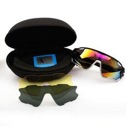 Замена линз очков онлайн-HD поляризованные велосипедные очки высокого качества ПК мода спортивные очки съемный сменный объектив на открытом воздухе спортивные аксессуары