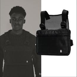 Тактическая сумка для талии онлайн-Harness Chest Rig Bag Хип-Хоп Уличная Тактическая Черная Грудь Rig Molle Функциональная Сумка Талии Мужчины Водонепроницаемые Сумки через Плечо