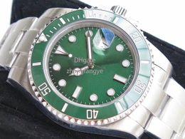 12Mens Watches Reloj de lujo V8 904L 116610LN ETA 2836 Reloj mecánico automático Marco de cerámica negro Reloj de buceo luminoso Envío gratis de DHL desde fabricantes