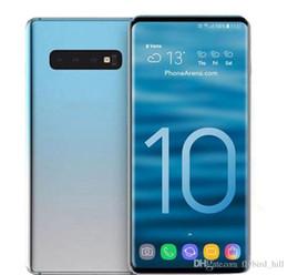 новые телефоны android 4g Скидка Новый Goophone S10 Plus 4G Lte Octa Core 6,3 дюйма S10 + Ram 1GB ROM 16GB Android 7.0 Камера 13.0MP Face Iris ID разблокирован смартфон