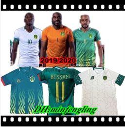 Nueva camiseta de fútbol de Mauritania 2019 19/20 Mauritania # 11 BESSAM Camiseta de fútbol Camiseta de manga corta para hombre Equipo nacional de fútbol uniforme desde fabricantes