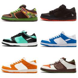 Conceptos de diseño al por mayor x Sb Dunk Low Blue Purple Lobster Zapatos para correr Dunks Mujer Hombres Entrenadores Zoom Zapatillas deportivas desde fabricantes