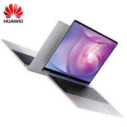 "Двухъядерный диапазон онлайн-HUAWEI MateBook 13"" Laptop WRT W19B Windows 10 Intel Core i5-8265U Quad Core 8GB 256GB Dual Band Fingerprint Sensor Notebook"