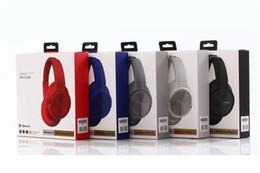 casque q7 Promotion Nouveau WH-CH700 Casque Sans Fil Bluetooth 5.0 Écouteur Casque Pour Oreille Tête Téléphone SONY iPhone Xiaomi Huawei Écouteurs Écouteur