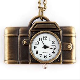 Argentina 2019 venta caliente partido 10 unids * Retro cámara collar collar reloj de bolsillo collar colgante mesa aleación collar Suministro