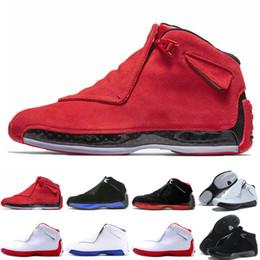 18 18s XVIII мужская баскетбольная обувь Toro OG ASG черный белый красный разводят королевский синий спортивные кроссовки тренеры дизайнер от