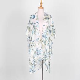 ZSyearth Mode Impression Écharpe Femmes Rétro Fleur Forme Châle Doux D'été Plage Écran Solaire Hijabs Nouveau Design Foulards ? partir de fabricateur