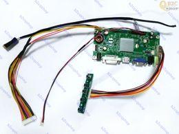 2019 display de placa lcd HDMI + DVI + VGA LCD Controlador Board Monitor Kit inverter para 2560X1440 LM270WQ1 (SD) (E3) LM270WQ1-SDE3 monitor de tela display de placa lcd barato