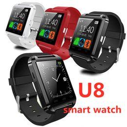 смарт-цифровые часы gps Скидка U8 Bluetooth Смарт Часы Android Часы Цифровые Спортивные Наручные Светодиодные Часы Пара Для iOS Android Телефон U8 DZ09 GT08 A1 SmartWatch