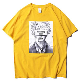 6d8466af3e3c 2019ss Smoking Kills Sanji Printed Women Men T shirts tees Hiphop  Streetwear Men Cotton T shirt 1s:1 For Summer Style kill t shirts on sale