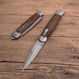 Cuchillo de combate de damasco online-la apertura de Damasco F125 rápida EDC que acampa yendo de caza táctico del combate del plegamiento envío libre cuchillos de hoja 1pcs