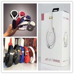 Multi auricolari online-39 b Cuffia Bluetooth multi-colore pieghevole montata sulla testa Scheda per lo sport Musica Auricolare Bluetooth wireless Auricolare universale per Iphone Android