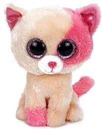 ti nuovi grandi occhi Sconti New Ty Beanie Boos Big Eyes Anabelle the Cat Peluches Bambini Peluche per bambini Regali 15cm