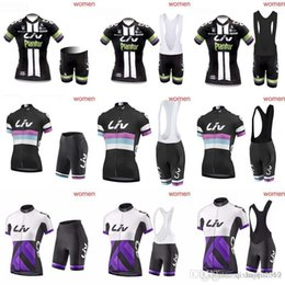 23cad449c3e 2018 High quality LIV lady short sleeve cycling jersey Simple casual cycling  jersey and short pants woman cycling clothes bib shorts sets