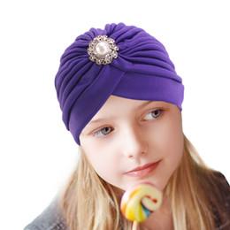 Canada Bijoux Indian Hat Bandanas bébés filles enfants noeud turban bandeau cheveux bandeaux serre-tête enveloppant accessoires pour enfants headwrap cheap jewelry heads Offre