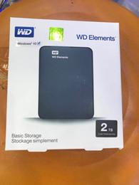"""2019 dischi rigidi interni per computer portatili NOVITÀ Disco rigido esterno USB3.0 da 2,5 """"Disco fisso HDD da 2 TB nero Disco caldo"""
