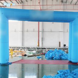 Arco de entrada on-line-Entrada Uso Comercial personalizado Finish Line Arch Partido Publicidade inflável Arch Decoração com Logo Venda