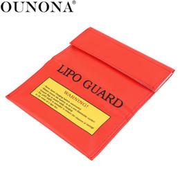 2019 tissu de lapin de pâques 18x23cm RC LiPo batterie Li-Po ignifuge garde de sécurité sac de charge sac sac de rangement de protection sac