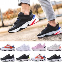 Argentina 2019 Nike Air Monarch the M2K Tekno Old sport zapatillas de deporte para hombres mujeres zapatillas de deporte atléticos entrenadores profesionales zapatos de diseño al aire libre envío gratis 36-45 cheap professional running shoes Suministro