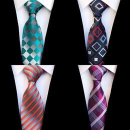2019 может краситель полиэстер JEMYGINS мода плед галстук шелк жаккардовые тканые свадебный галстук для мужчин полосатый градиент синий красный зеленый галстук костюм партии Gravatas