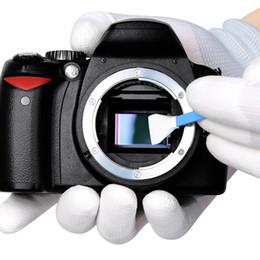 влажные салфетки для очков Скидка CMOS CCD камера тампон Фото CCD / CMOS тампон костюм всго датчика Cleaning Kit DDR-16 для APS-C DSLR Очистка датчика