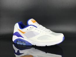 nike air max airmax 180 дизайнер мужская обувь Ультрамарин белый черный Тренеры комфорт воздушной подушке спортивные кроссовки женская ходьба сопротивление скольжению обуви от